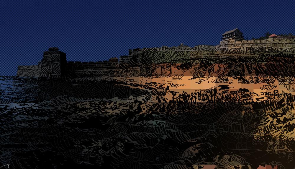 赵国的城池
